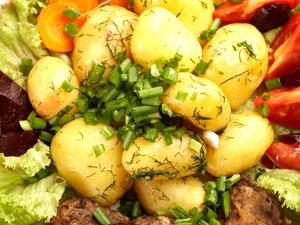 Как оформить блюда овощей