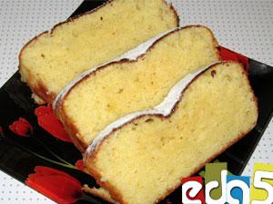 кекс творожный в большой силиконовой форме пошаговый рецепт